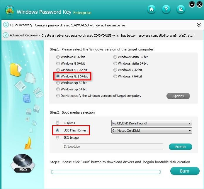 how to create bootable disk from iso