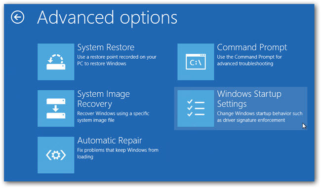 windows 8 to boot into safe mode