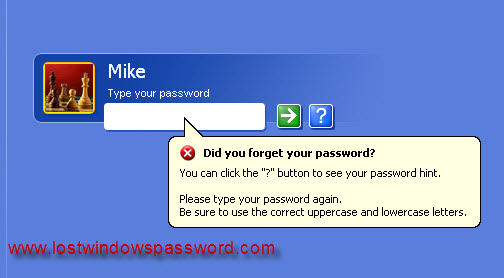 what to do when you forgot your windows xp administrator password