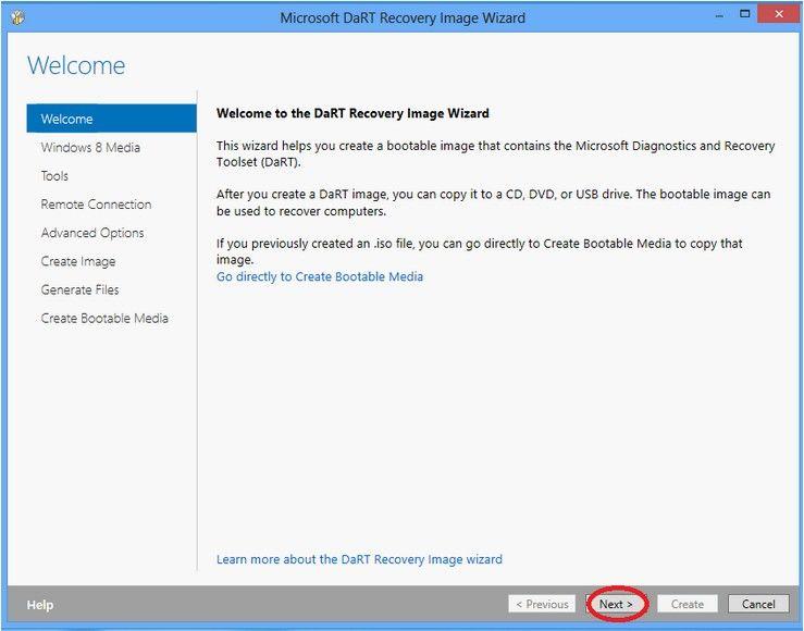 SOLVED ERD Commander For Windows 8