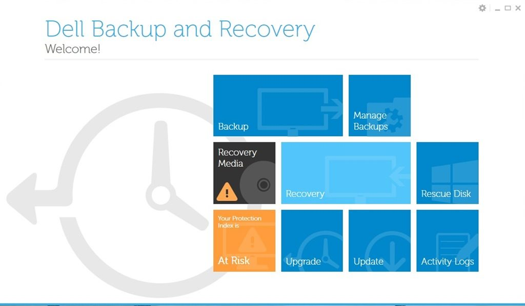 dell backup and recovery