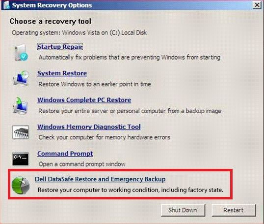 How to Restore Dell Laptop to Factory Settings without Admin Password