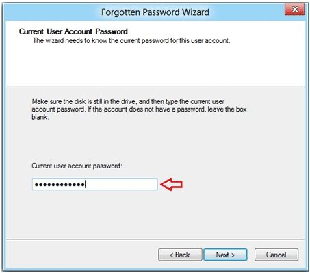 how to create windows password reset disk for hp laptop