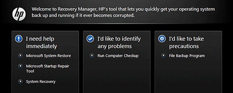 How to restore hp laptop to factory settings windows 7 without cd