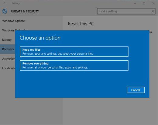 Top 2 Ways to Reset an HP Laptop Windows 10 without Password