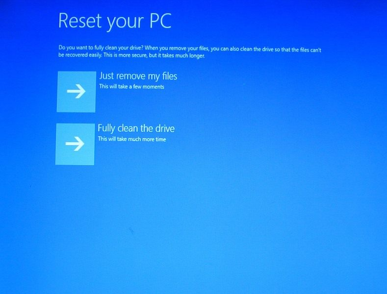 how to completely restart a dell laptop