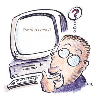 forgot win vista password