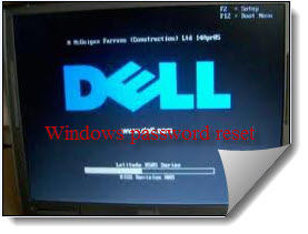 how do i bypass a password on a dell computer