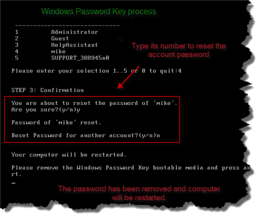 recover hp 2000 password without disk