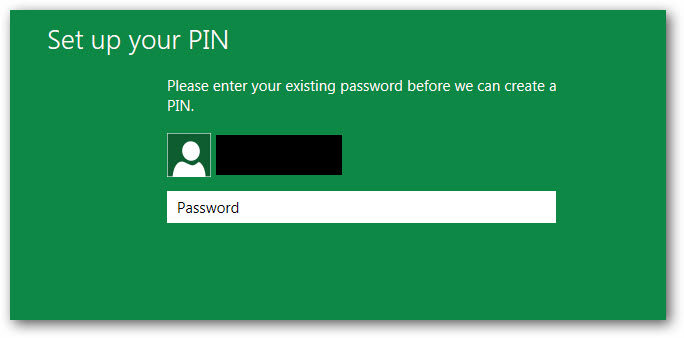enter password for current account