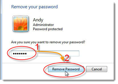 login windows 7 without password