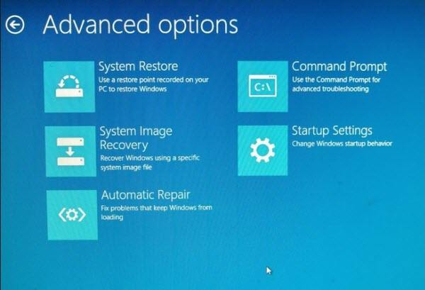 start windows 8 from safe mode