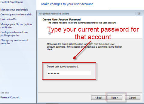 How to Reset Toshiba Password Based on Windows 7 Operating
