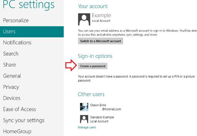 how to unlock Windows 8 without password