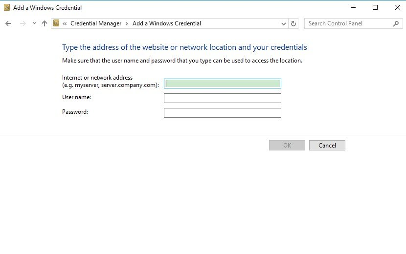 What Are Network Credentials in Windows 10