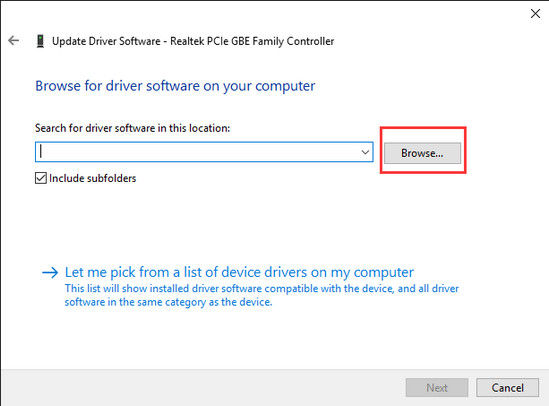 import driver file