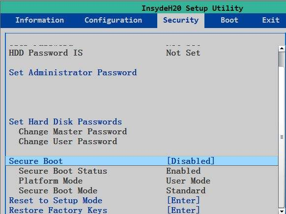 How to Recover/Reset Login Password on UEFI Based Lenovo/ThinkPad