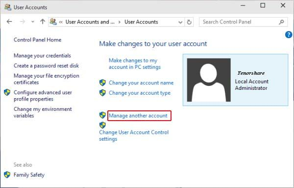 Top Ways to Remove Administrator Account on Windows 10 without Password