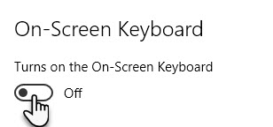 Top 6 Ways to Enable and Disable Use On-Screen Keyboard in