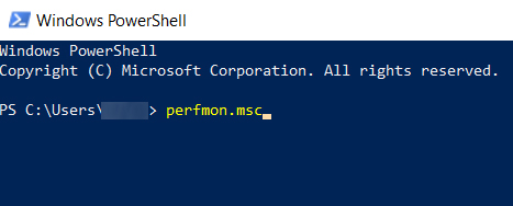 perfmon powershell