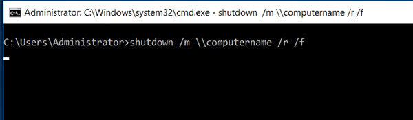 remote shutdown