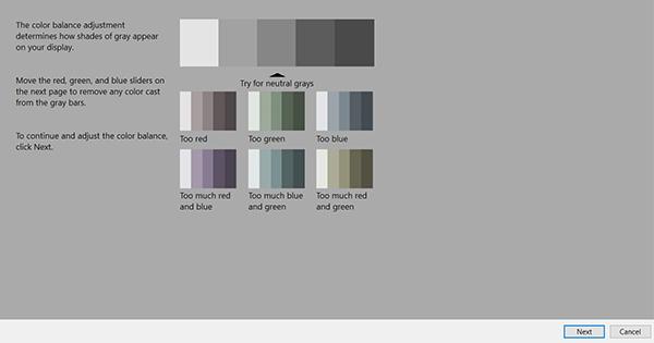 set color level