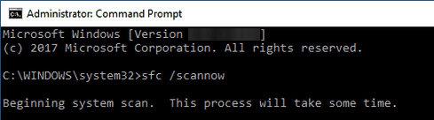 sfc scan
