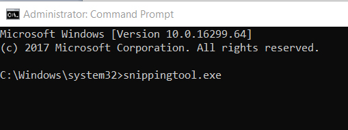 snipping tool cmd