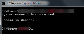 3 Ways to Fix System error 5 has occurred Error on Windows