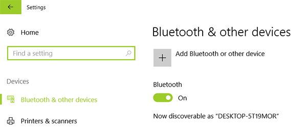How to turn on bluetooth on windows 10 turn on bluetooth ccuart Gallery