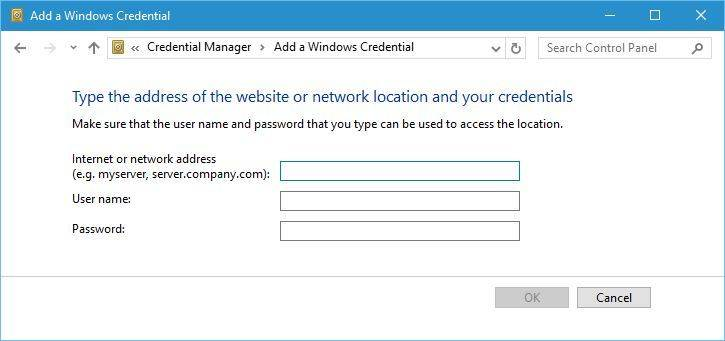4 Ways to Fix Enter Windows 10 Network Credentials Not Working