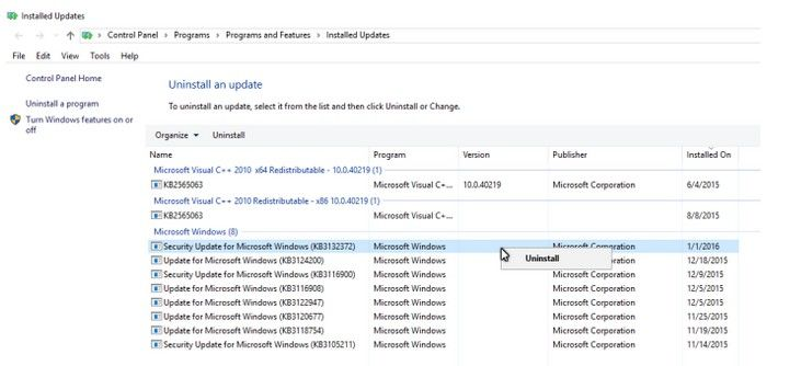 fix windows update security