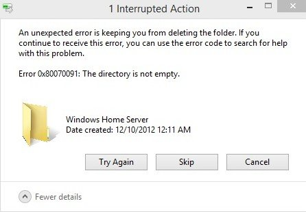 3 Solutions to Fix Error 0x80070091 on Windows 7: The