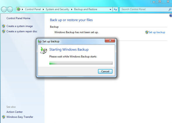 back up windows 7 files