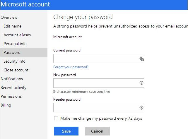 more security tips for microsoft account