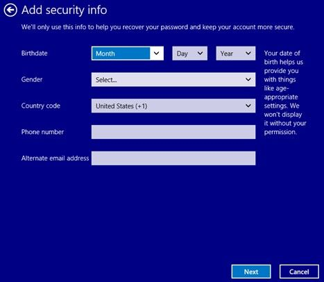 switch from local account to microsoft account in windows 8.1