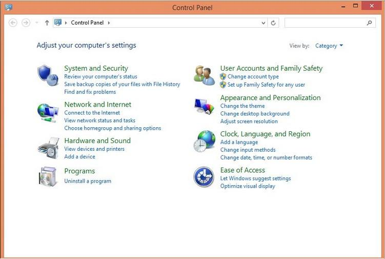 change a user's account type in windows 8.1