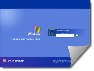 how to reset the administrator password in windows xp