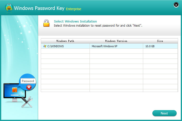 crack windows 10 password